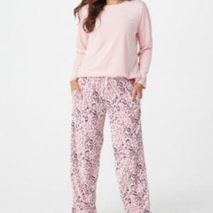 Carole Hochman silky velour fleece Pajamas